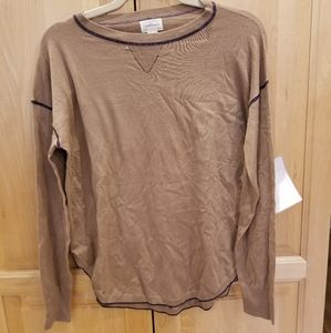 Caslon Lightweight Sweater Crewneck SZ S NWT